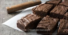 These are the healthy Paleo brownies of your dreams! They are so tender and chocolatey, it's hard to believe they're also gluten- and dairy-free...