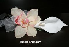 For Groom with Green orchid
