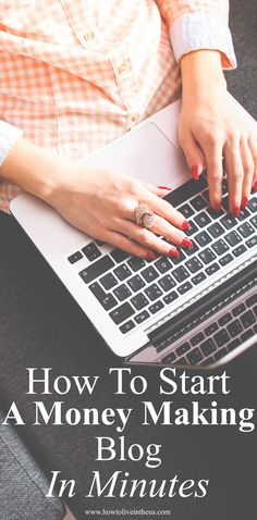 How To Start A Blog: A step-by-step tutorial, explained in detail with pictures! From hosting to installing WordPress, to fully developing and designing a money making blog! It's super easy to follow! Start your own blog now! Check it out now! #blog