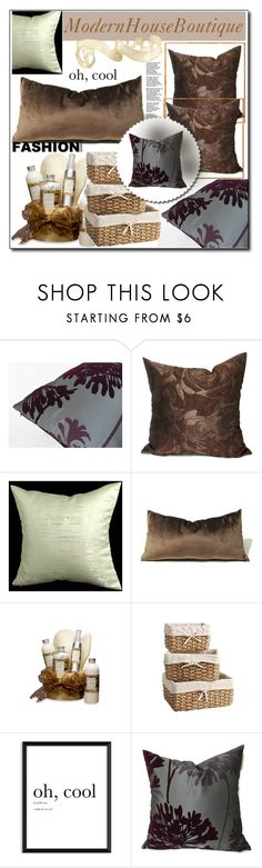 Modern House Boutique 18 by sabinn on Polyvore featuring interior, interiors, interior design, dom, home decor, interior decorating, Pier 1 Imports and modern