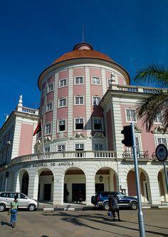 Banco Nacional de Angola - Luanda by Eric Lafforgue, via Flickr