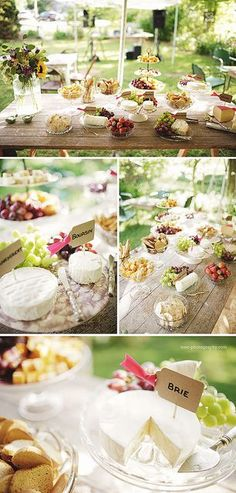 Cheese table: