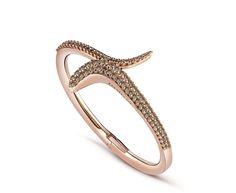 """Коллекция """"Eden"""". Браслет из розового золота и коричневыми бриллиантами"""