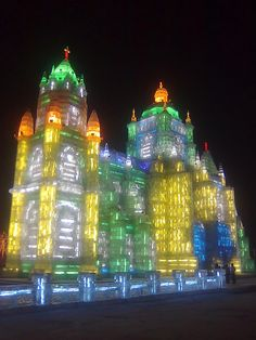Ice sculpture at harbin, china by Stephanie @ XueWen, via Flickr