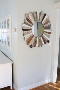 Make All Things New: Wood Sunburst Mirror