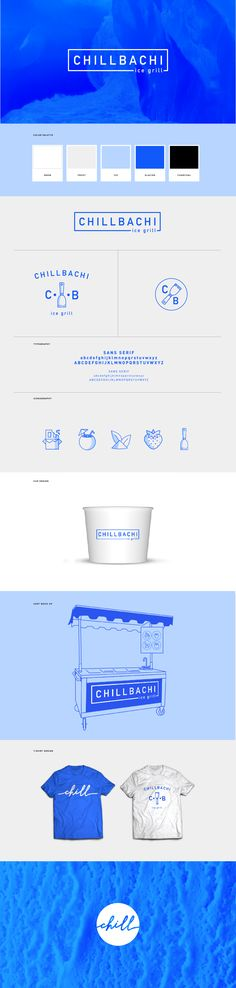 Branding for Chillbachi Ice Grill by Dynamo Ultima