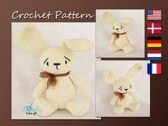 Amigurumi Pattern Bunny Crochet Pattern Rabbit von LovelyBabyGift