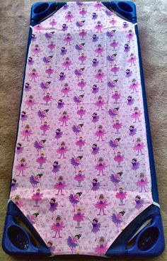 how to make a baby cot sheet