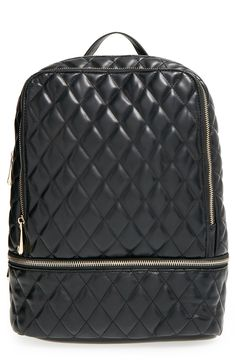 5ee95e8755c1 POVERTY FLATS by rian  Modern  Quilted Backpack. Sonya · Backpacks