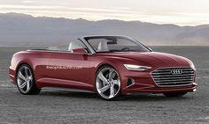 Proposition pour l'#Audi #A5 #Cabriolet 2016 qui a été faite à partir du concept Audi Prologue dévoilée il y a peu de temps par la marque Allemande.