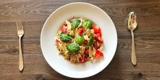 undefined Risotto, Menu, Ethnic Recipes, Food, Bulgur, Menu Board Design, Meal, Eten, Meals