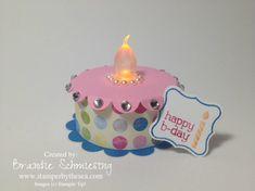 Tiny Tealight Cake