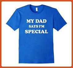 Mens My Dad Says I'm Special T-Shirt for Sons Daughters Babies  3XL Royal Blue - Relatives and family shirts (*Partner-Link)