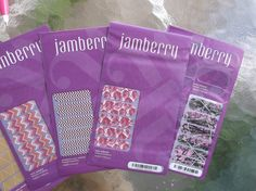 JAMBERRY  NAIL WRAPS LOT OF 5 NEW RETIRED MUDDY ending soon!!    GIRL #CAMO #GOLD MANI ART #JAMBERRY