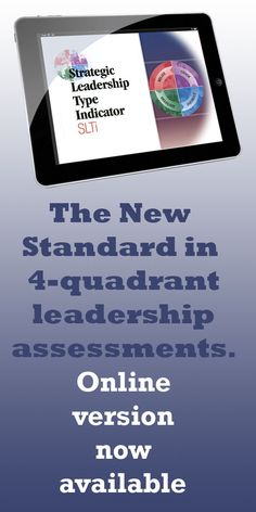 Supervisors can complete the Online Strategic Leadership Type Indicator and review the extensive report of their results as part of a self-directed learning exercise or trainers can use the online SLTI as a pre-course assignment for the organisations management skills training. Easy online administration gives the human resources trainer/administrator control of whether or not supervisors can print/view their assessment reports.
