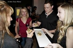 Guests enjoying appetizers Appetizers, Website, Party, Snacks, Fiesta Party, Appetizer, Entrees, Parties, Hors D'oeuvres