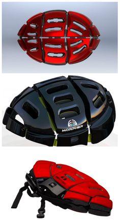 capacete dobrável
