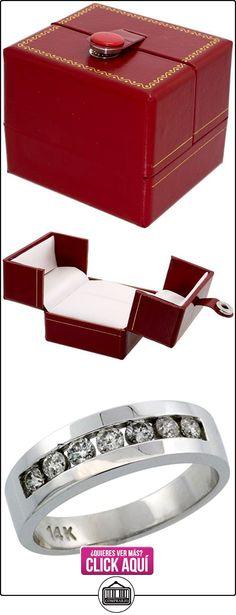Revoni - Anillo de oro blanco  ✿ Joyas para hombres especiales - lujo ✿ ▬► Ver oferta: http://comprar.io/goto/B004U6E0E2