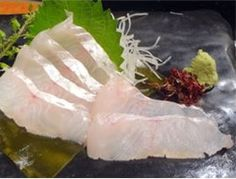 HIGE TARA / Cod with beard, sashimi