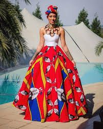 Image result for beautiful zulu traditional dresses