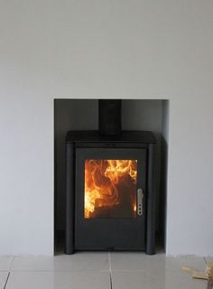 ISIS Contemporary Modern Woodburning Stove Stoves