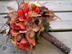 Autumn Dawn Wedding Bouquet
