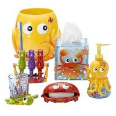 Sea Life Bath Collection Bathroom Kids