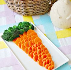 ways to serve frits and vegetables   Ways to Make Fruits and Veggies Fun at Your Next Kid's Party (Family ...