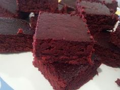 Cacao beetroot slice