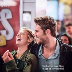 Laugh, love and live with the stars of #MahattanLoveStory - Analeigh Tipton and Jake McDorman!