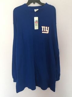Nfl Team Apperal Blue Top Shirt For MAN NY Giants  Big And Tall 6x Nwt    eBay