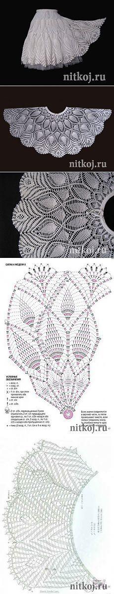 Fabulous Crochet a Little Black Crochet Dress Ideas. Georgeous Crochet a Little Black Crochet Dress Ideas. Crochet Skirt Pattern, Crochet Lace Dress, Crochet Skirts, Crochet Clothes, Crochet Patterns, Crochet Ideas, Crochet Diagram, Débardeurs Au Crochet, Gilet Crochet