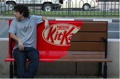A questa campagna #KitKat sono particolarmente legata. Con questa sono venuta a conoscenza del marketing non convenzionale e mi sono innamorata!
