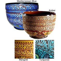 Mediterranean Ceramic Planter