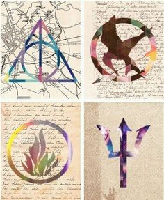 Hunger Games ~ Harry Potter ~  Divergent ~ Percy Jackson