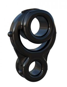Fantasy C-Ringz Ironman Triple Ring - Black