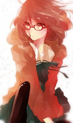 Bespectacled Beauty