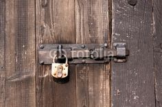 Verriegelte Tür