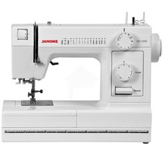 My new bad boy (thank you, dear husband!)   Janome HD1000 Heavy-Duty Sewing Machine with 14 Built-In Stitches