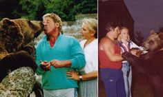 Meet Hercules the Human Bear who lived in family home for 25 YEARS....Andy, Maggie with Hercules...