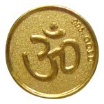 Om Gold coins by Parshwa Padmavati Gold