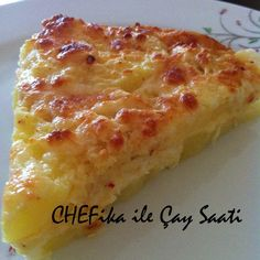 CHEFika ile Çay Saati: Kremalı Patates Tartı