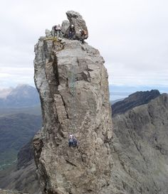 Visit Scotland to Traverse the Cuillin Ridge » Mountain & Sea Guides