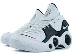 Nike Air Zoom Flight 95 - Olympic Edition - Jason Kidds! I really wanted these shoes to be great. Alas.. they were too rigid for my tastes. Totally futuristic and classic design, though.