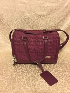 Mary Kay Burgundy Case Carry On Travel Bag Consultant