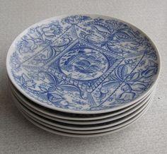 USSR Russian LFZ Lomonosov Porcelain Set of 6 Pieces of Plates | eBay