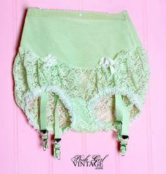 1950's Olga Lace Girdle Vintage Panties