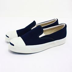 Made in USA | ... DIFFERENT: Vintage : Converse Jack Purcell Slip-on (Made in U.S.A