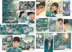 칸만화연구작[애니포스만화학원] Comic Layout, Graphic Novel Art, Manga Artist, Comic Panels, Sketchbook Inspiration, Illustrations And Posters, Book Illustration, Cute Art, Watercolor Art