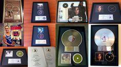 Grammy Nominations, Gold Platinum, Awards, Gallery Wall, Decor, Decoration, Decorating, Deco